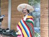 メキシコの「ポンチョ」の動画